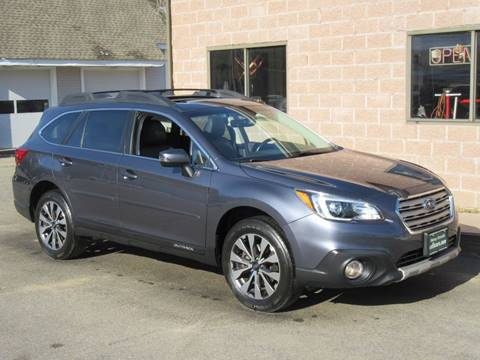 2017 Subaru Outback for sale at Advantage Automobile Investments, Inc in Littleton MA