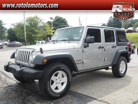 2016 Jeep Wrangler Unlimited for sale in Charleroi PA