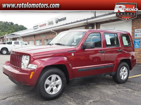 2012 Jeep Liberty for sale in Charleroi PA