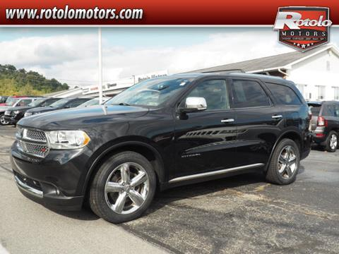 2013 Dodge Durango for sale in Charleroi PA