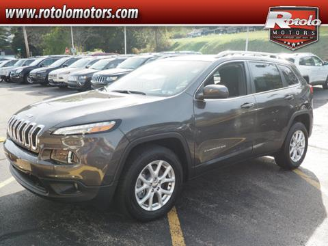2017 Jeep Cherokee for sale in Charleroi PA