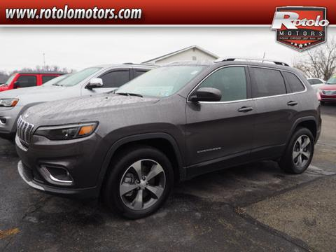 2019 Jeep Cherokee for sale in Charleroi, PA