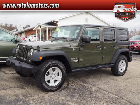 2016 Jeep Wrangler Unlimited for sale in Charleroi, PA