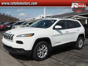 2017 Jeep Cherokee for sale in Charleroi, PA