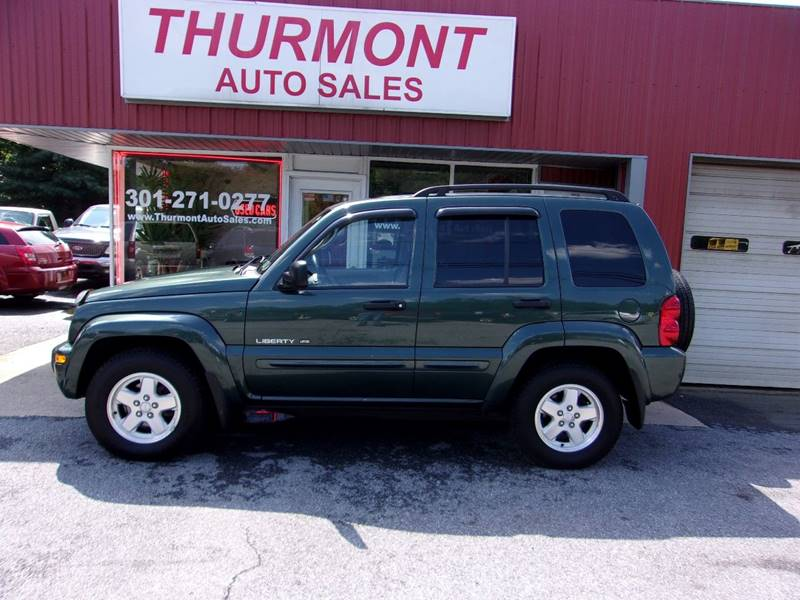 2003 Jeep Liberty For Sale At THURMONT AUTO SALES In Thurmont MD