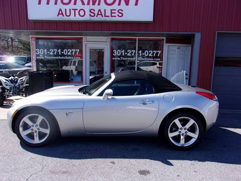 2006 Pontiac Solstice for sale in Thurmont, MD