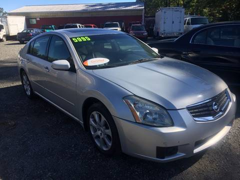 2007 Nissan Maxima for sale in Bally, PA