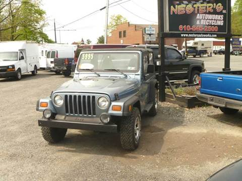 1997 Jeep Wrangler for sale at Nesters Autoworks in Bally PA