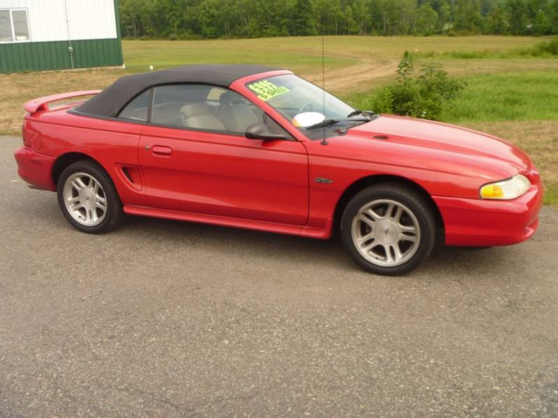 1998 Ford Mustang for sale at Nesters Autoworks in Bally PA
