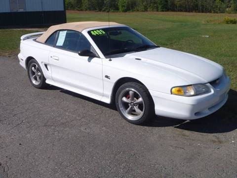 1994 Ford Mustang for sale at Nesters Autoworks in Bally PA