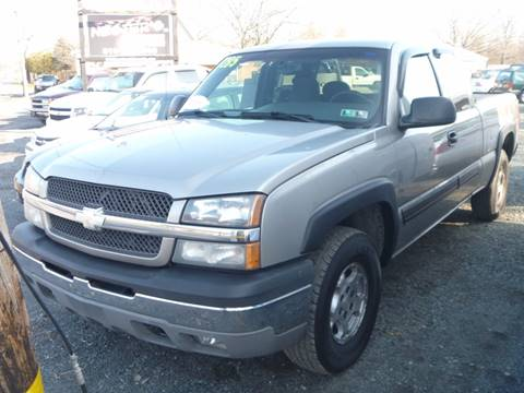 2003 Chevrolet Silverado 1500 for sale at Nesters Autoworks in Bally PA