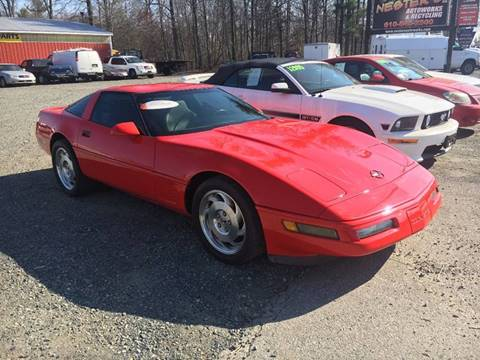 1996 Chevrolet Corvette for sale at Nesters Autoworks in Bally PA