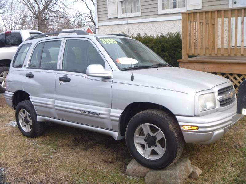 2003 Chevrolet Tracker for sale at Nesters Autoworks in Bally PA