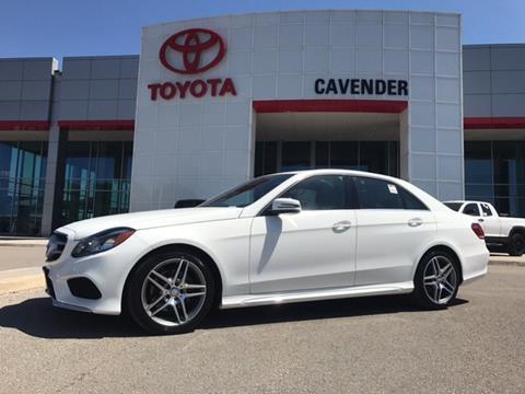 2016 Mercedes-Benz E-Class for sale in San Antonio, TX