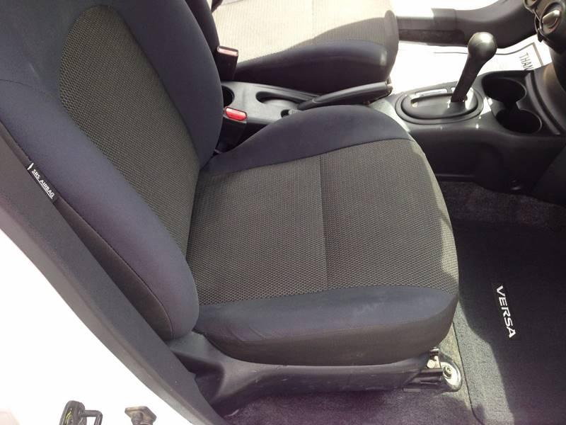 2012 Nissan Versa 1.6 S 4dr Sedan CVT - Conway AR