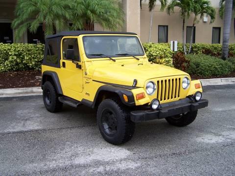 2000 Jeep Wrangler for sale in Saint Petersburg, FL