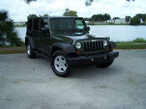 2009 Jeep Wrangler Unlimited for sale in Saint Petersburg, FL