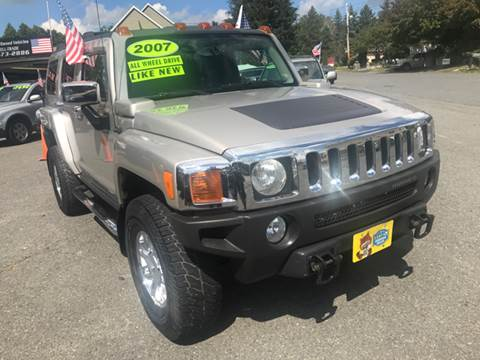 2007 HUMMER H3 for sale in Milford, MA