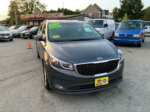 2017 Kia Sedona for sale at Milford Auto Mall in Milford MA