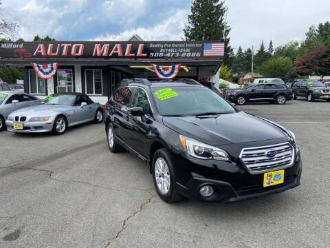 2017 Subaru Outback for sale at Milford Auto Mall in Milford MA