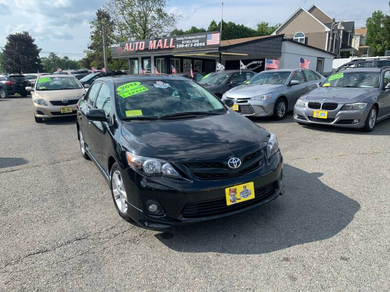 2012 Toyota Corolla for sale at Milford Auto Mall in Milford MA
