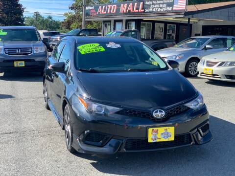 2016 Scion iM for sale at Milford Auto Mall in Milford MA