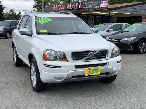 2013 Volvo XC90 for sale at Milford Auto Mall in Milford MA