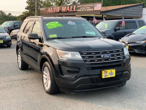 2016 Ford Explorer for sale at Milford Auto Mall in Milford MA