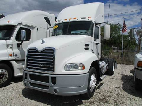 2009 Mack CXU600 SINGLE AXLE