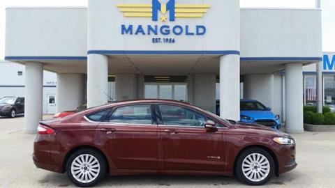 2016 Ford Fusion Hybrid for sale in Eureka, IL