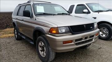 1999 Mitsubishi Montero Sport for sale in Eureka, IL
