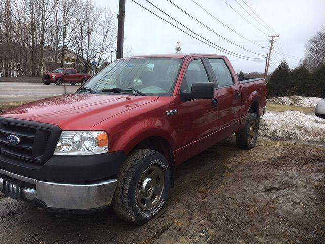 2008 Ford F-150 4x4 XL 4dr SuperCrew Styleside 5.5 ft. SB - Manchester ME