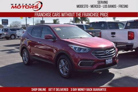 2017 Hyundai Santa Fe Sport for sale at Choice Motors in Merced CA