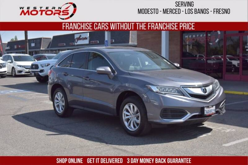 2017 Acura RDX for sale at Choice Motors in Merced CA