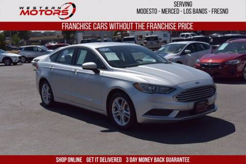 2018 Ford Fusion for sale at Choice Motors in Merced CA