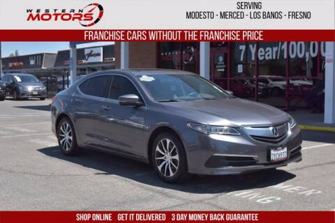 2017 Acura TLX for sale at Choice Motors in Merced CA