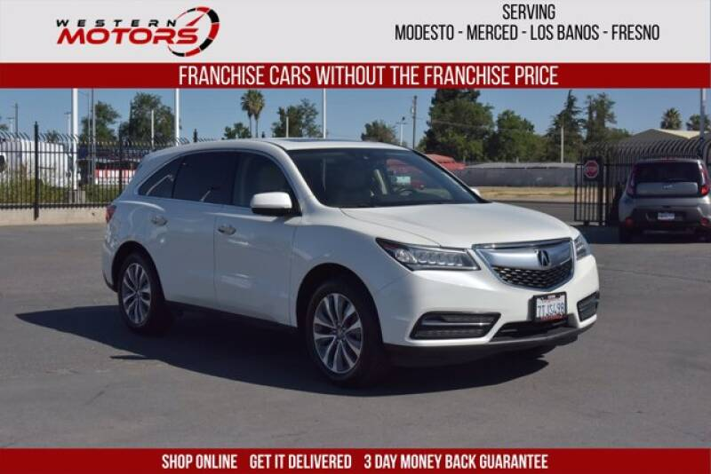 2016 Acura MDX for sale at Choice Motors in Merced CA