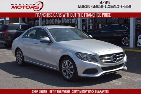 2017 Mercedes-Benz C-Class for sale at Choice Motors in Merced CA
