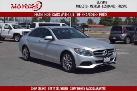 2015 Mercedes-Benz C-Class for sale at Choice Motors in Merced CA