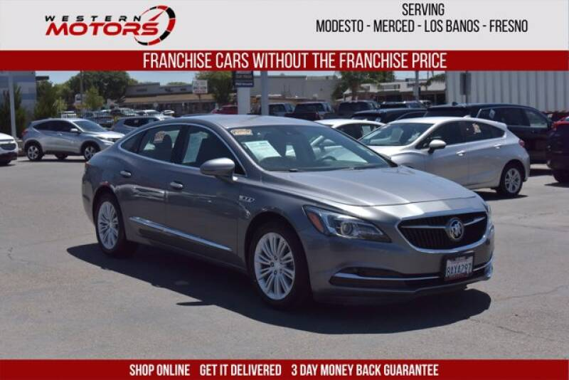 2018 Buick LaCrosse for sale at Choice Motors in Merced CA