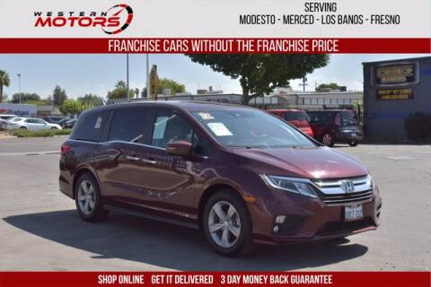 2018 Honda Odyssey for sale at Choice Motors in Merced CA