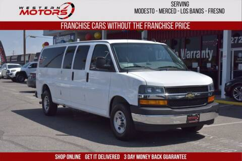 2018 Chevrolet Express Passenger for sale at Choice Motors in Merced CA
