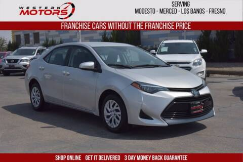 2019 Toyota Corolla for sale at Choice Motors in Merced CA