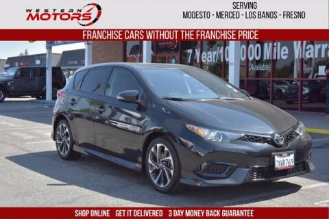 2017 Toyota Corolla iM for sale at Choice Motors in Merced CA