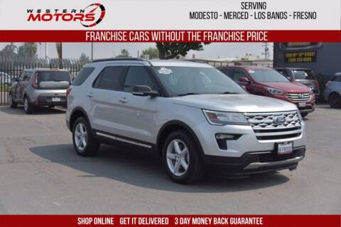 2019 Ford Explorer for sale at Choice Motors in Merced CA