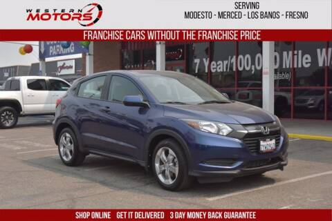 2017 Honda HR-V for sale at Choice Motors in Merced CA