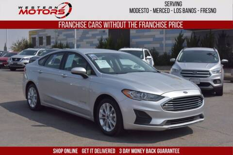 2019 Ford Fusion Hybrid for sale at Choice Motors in Merced CA