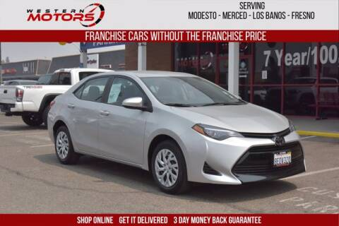 2018 Toyota Corolla for sale at Choice Motors in Merced CA