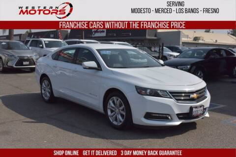 2018 Chevrolet Impala for sale at Choice Motors in Merced CA