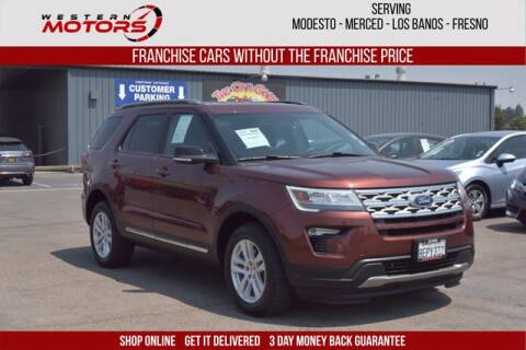 2018 Ford Explorer for sale at Choice Motors in Merced CA